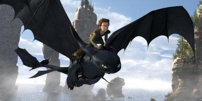 Szenenbild aus HOW TO TRAIN A DRAGON - DRACHENZÄHMEN LEICHT GEMACHT - © Paramount Pictures