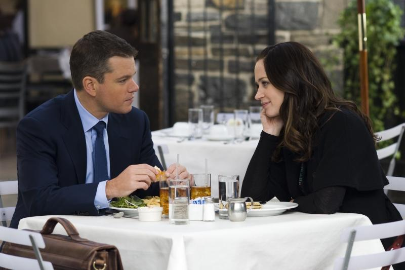 Filmstill mit Matt Damon und Emily Blunt in THE ADJUSTMENT BUREAU - © Universal Pictures