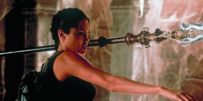 Angelina Jolie in LARA CROFT: TOMB RAIDER - © Concorde Home