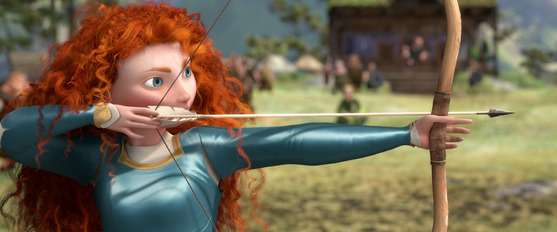 Merida in BRAVE - ©2012 Disney/Pixar. All Rights Reserved.