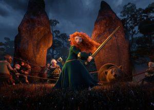 """BRAVE"" (Pictured) MERIDA. ©2012 Disney/Pixar. All Rights Reserved."