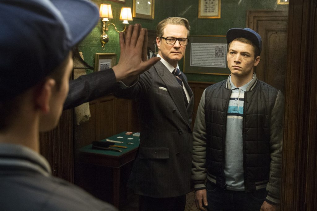 Szenenbild aus KINGSMAN: THE SECRET SERVICE - Spieglein, Spieglein... - © 20th Century Fox