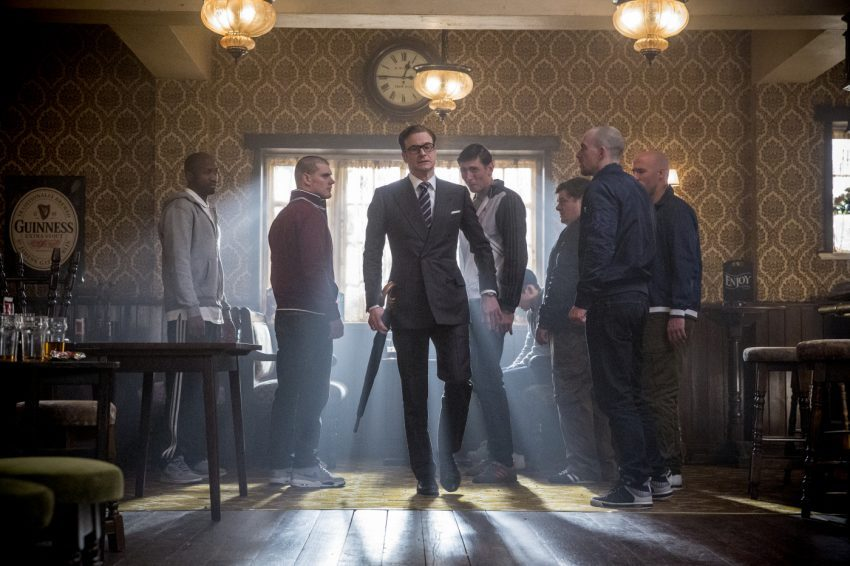 Szenenbild aus KINGSMAN: THE SECRET SERVICE - Manners maketh man - © 20th Century Fox