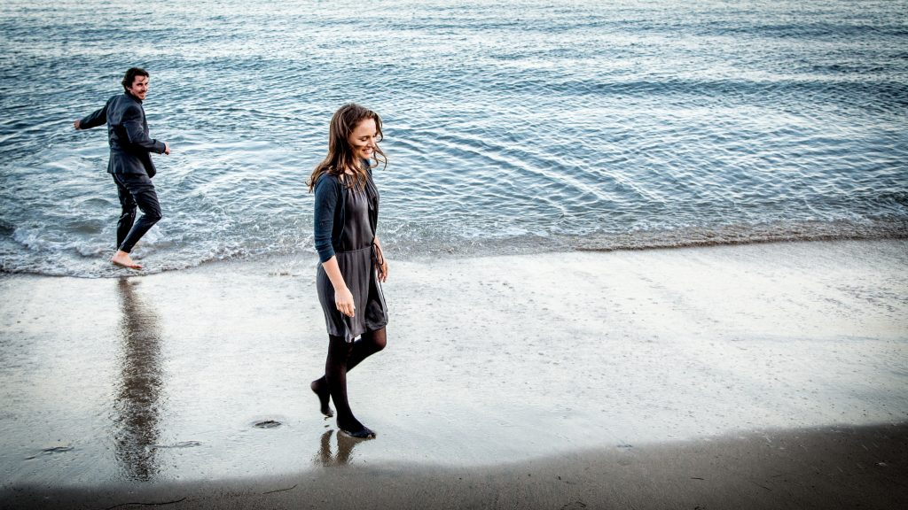 KNIGHT OF CUPS - Christian Bale und Natalie Portman - © Studiocanal