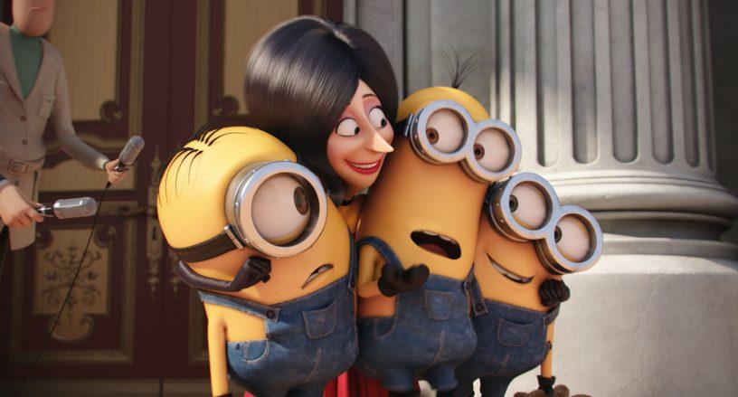 Szenenbild - Scarlet und die Minions - © Universal Pictures Germany