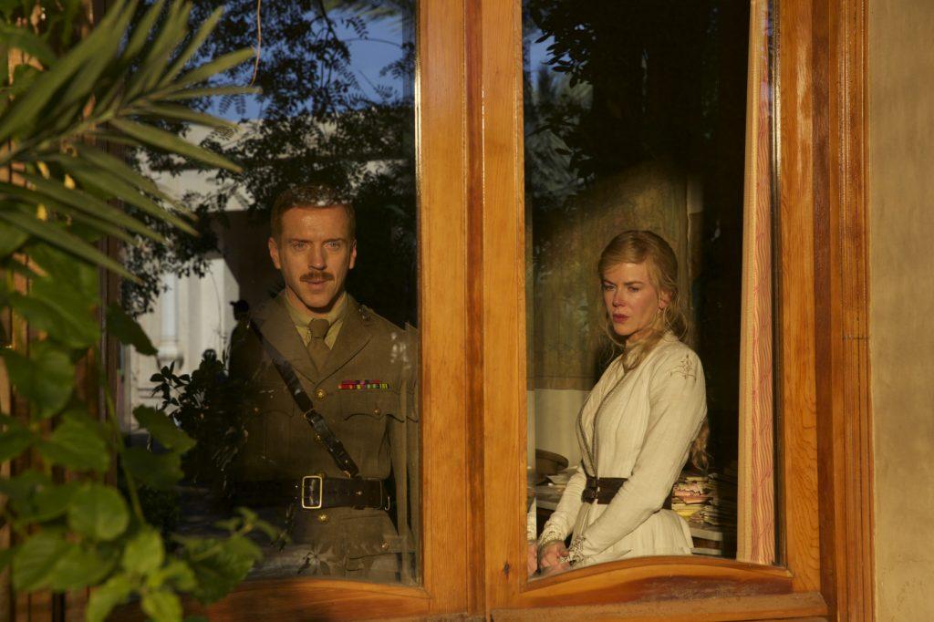 Szenenbild aus QUEEN OF THE DESERT - Major Charles Doughty-Wylie (Damien Lewis) und Gertrude Bell (Nicole Kidman) - © 2015 PROKINO Filmverleih GmbH