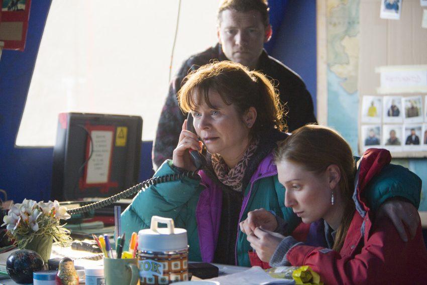 EVEREST - ergführer Guy Cotter (Sam Worthington), Gruppenleiterin Helen (Emily Watson) und Ärztin Caroline (Elizabeth Debicki) - © Universal Pictures