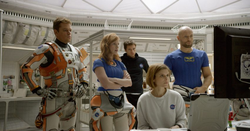 Szenenbild aus THE MARTIAN - DER MARSIANER - Das Team - © 2015 Twentieth Century Fox