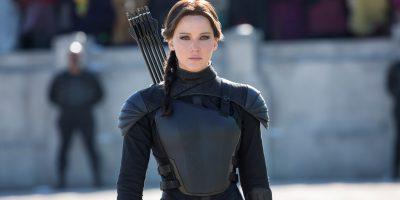 Szenenbild aus HUNGER GAMES MOCKINGJAY - Katniss Everdeen (Jennifer Lawrence) - © 2015 StudioCanal