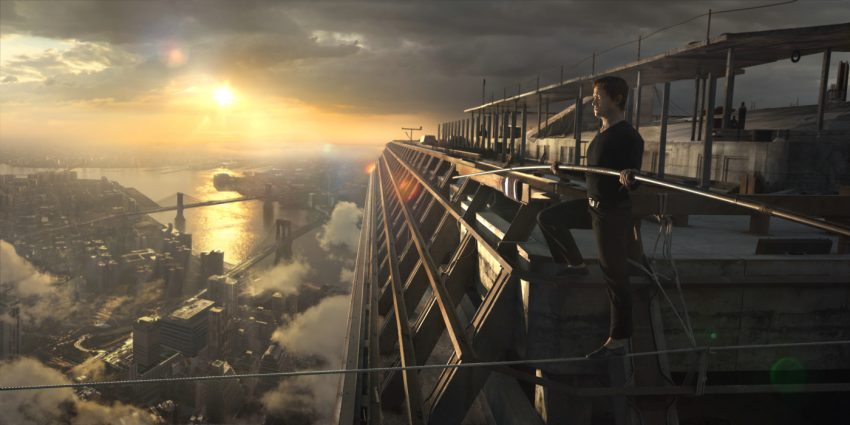 Szenenbild aus THE WALK - © Sony