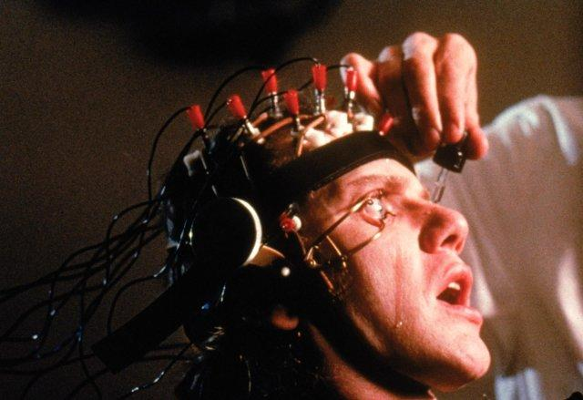 Szenenbild aus A CLOCKWORK ORANGE - UHRWERK ORANGE - Wer geheilt werden will, muss leiden. - © Warner Bros.