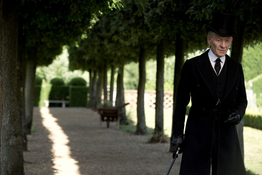 Szenenbild aus MR. HOLMES - Sherlock Holmes (Ian McKellen) - © Alamode Filmverleih