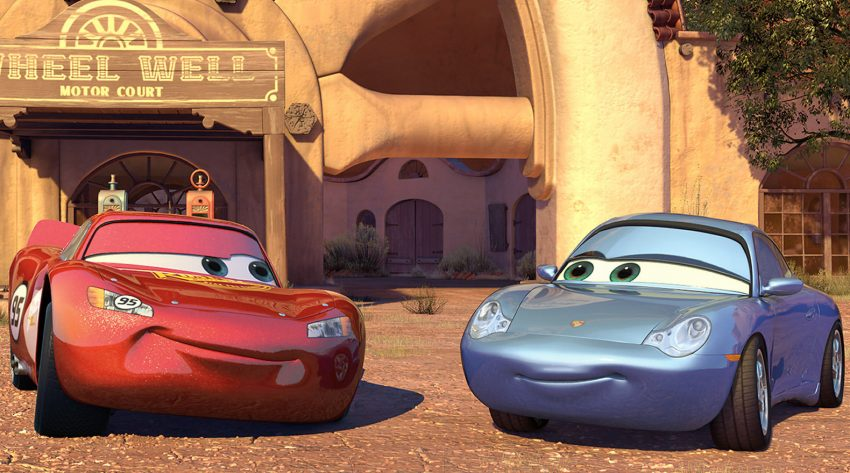 CARS - Lightning und Sally - © Disney