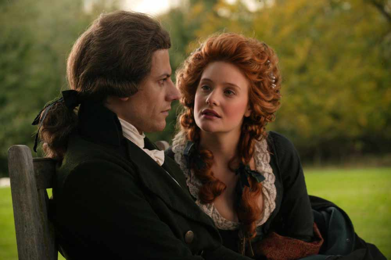 Wilberforce (Ioan Gruffudd) und Barbara Spooner (Romola Garai) - © dtp entertainment