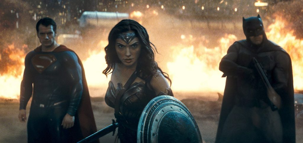Superman (Henry Cavill), Wonderwoman (Gal Gadot) und Batman (Ben Affleck) - © Warner Bros.