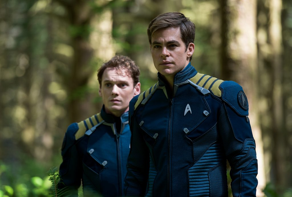 Chekov (Anton Yelchin) und Kirk (Chris Pine) - © Paramount Pictures