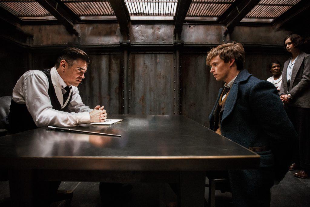 Percival Graves (Colin Farrell) gegen Newt Scamander (Eddie Redmayne) - © Warner Bros. Deutschland