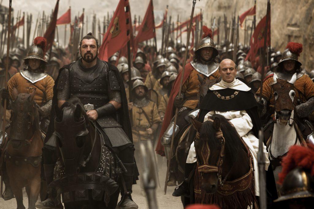 Tomas de Torquemada (Javier Gutiérrez) und Ojeda (Hovik Keuchkerian) - © 20th Century Fox
