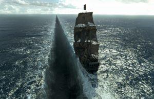 """Szene aus PIRATES OF THE CARIBBEAN: SALAZARS RACHE - Die """"Black Pearl""""- © Disney Deutschland"""