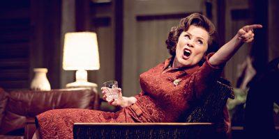 Imelda Staunton, Who's afraid of Virginia Woolf, NT Live, Credit : Johan Persson