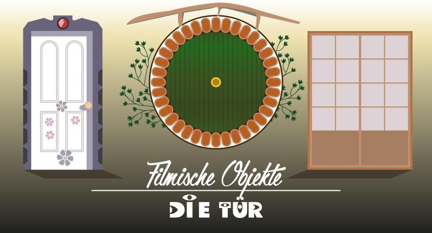 Logo Filmische Objekte Die Tür Das Tor