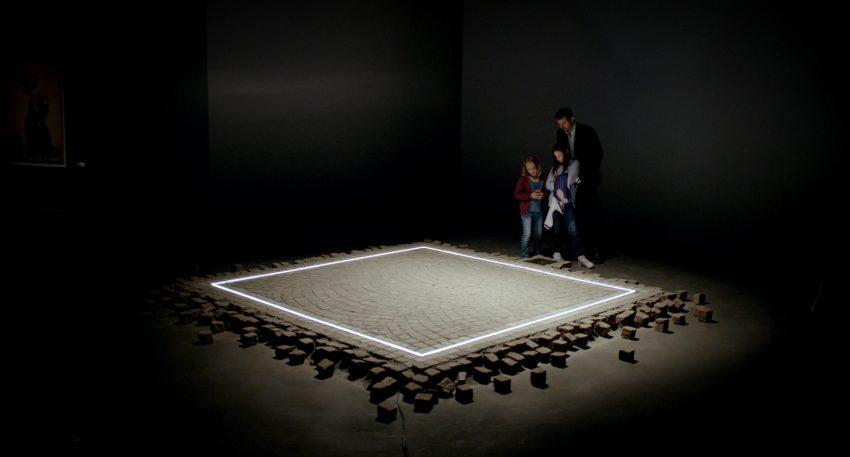 "Die Kunstinstallation ""The Square"" © Alamode Filmverleih"