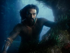 Filmstill aus JUSTICE LEAGUE (2017) - Aquaman (Jason Momoa) - © Warner Bros. Germany