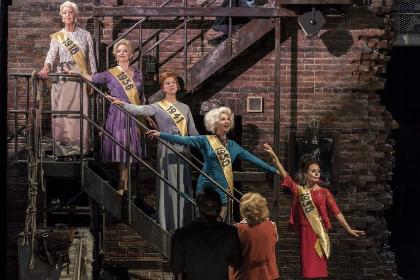 FOLLIES by Sondheim ; Directed by Dominic Cooke at the National Theatre, London - Credit : Johan Persson