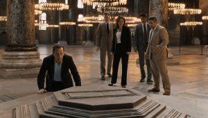 Szenenbild aus INFERNO (2016) - Langdon (Tom Hanks) auf der Suche nach dem Virus - © Sony Home