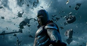 Szenenbild aus X-MEN: APOCALYPSE - Michael Fassbender als Magneto© 2016 Twentieth Century Fox Home Entertainment