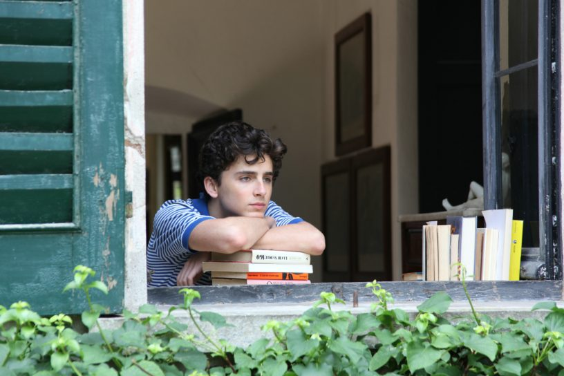 Filmstill aus CALL ME BY YOUR NAME (2017) - Elio (Timothée Chalamet) - © Sony Pictures