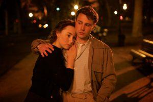 Szenenbild aus BROOKLYN (2015) - Eilis (Saoirse Ronan) und Tony (Emory Cohen) - © 20th Century Fox