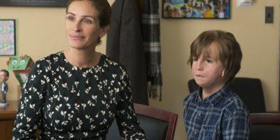 Szenenbild aus WONDER (2017) - WUNDER - Isabel (Julia Roberts) bringt Auggie (Jacob Tremblay) in die Schule - © Studiocanal