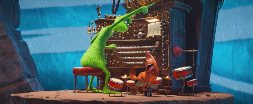 Szenenbild aus THE GRINCH (2018) - Der Grinch und Max - © Universal Pictures