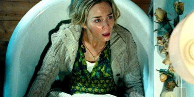 Szenenbild aus A QUIET PLACE (2018) - Evelyn (Emily Blunt) ist in Panik. - © Paramount Pictures