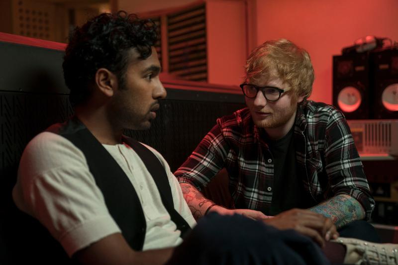 Szenenbild aus YESTERDAY (2019) - Jack (Himesh Patel) und Ed Sheeran (Ed Sheeran) - © Universal Pictures